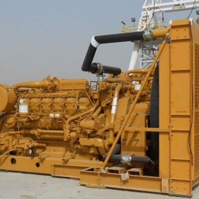 Caterpillar 3512B Engine 600V Generator