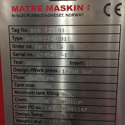 Fire fighting system matre maskin 2