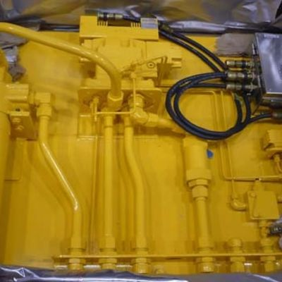 HYDRAULIC CONTROL PANEL ASSEMBLY