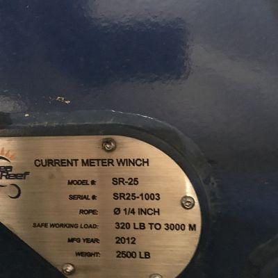 Cmwinch data plate