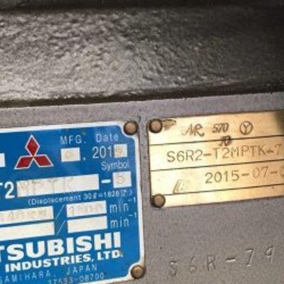 Mitsubishi S6R2-T2 MPTK Diesel Engine