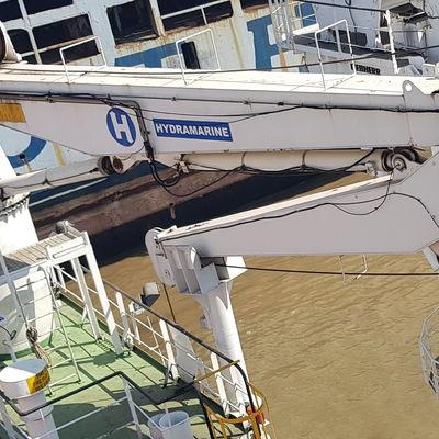 50 KN SWL Hydramarine Offshore Crane