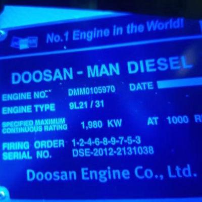 Doosan MAN Diesel Generator