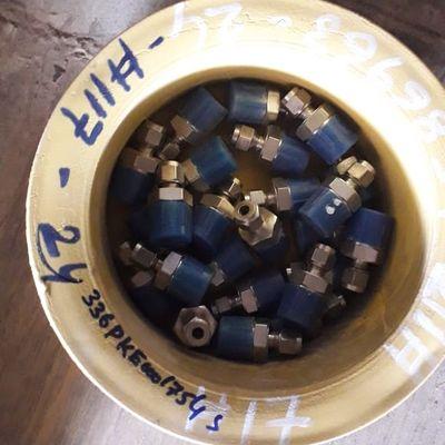 Male Connector DBL Ferrule 1/4