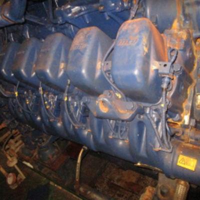 MTU 12V 4000 Engine