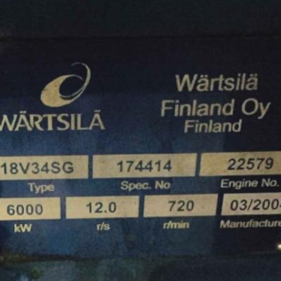 Wartsila Gas Generator Sets