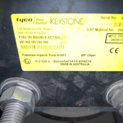 Tyco Flow control Keystone