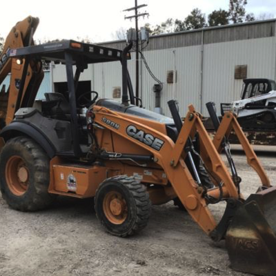 2014 Case 580N 4x4 Backhoe Loader