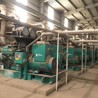 Used 50MW diesel power station