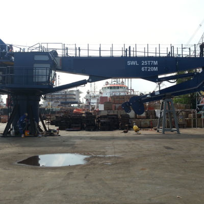 Offshore 25 Ton Knuckle Boom Crane