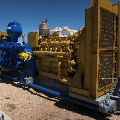 PZ9 Mud pump with Caterpillar 398 engine