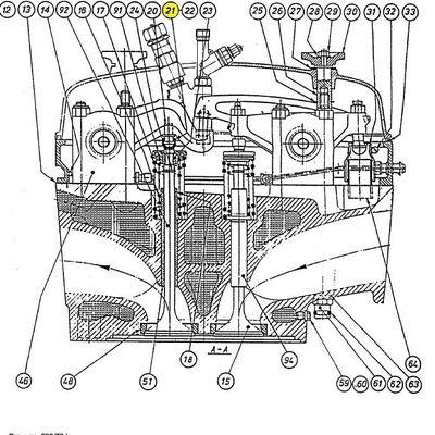 Spares for Bergen KRMB-9 Diesel Engine
