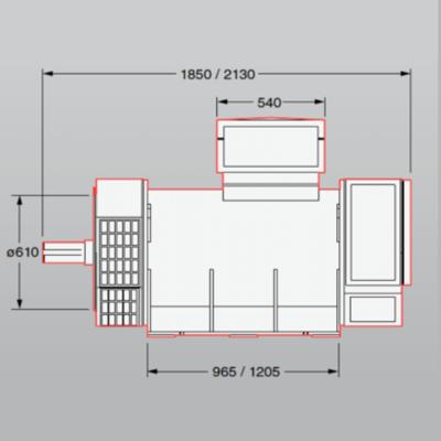 AVK DSG 62 Alternator