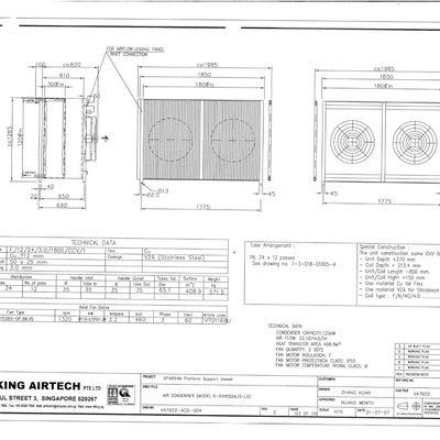 VIKING AIRTECH S-GVV052A Condenser Coil