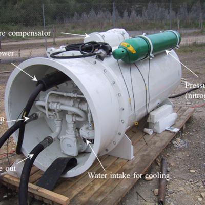 Subsea Electro-Hydraulic Pump Unit