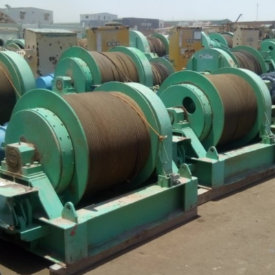 Double Drum Mooring Winches 3, 5 and 10T