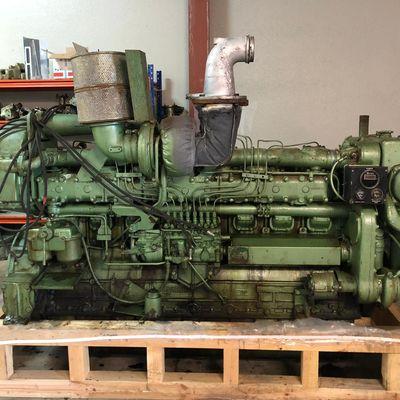 Siemens-Guascor F240 Diesel Engine