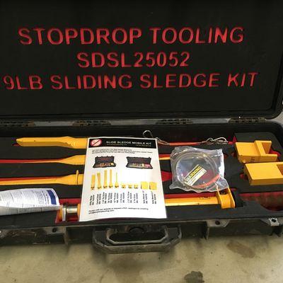 Drops Tools 9lb Slide Sledge