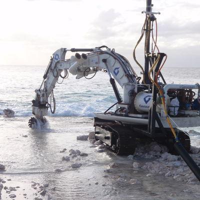16T Submarine Excavator