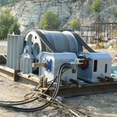 Hydraulic Winch 20T