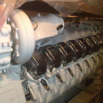 MTU Marine engines with Transmission