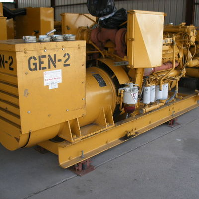 Two 3412 Caterpillar 600 KW Gensets