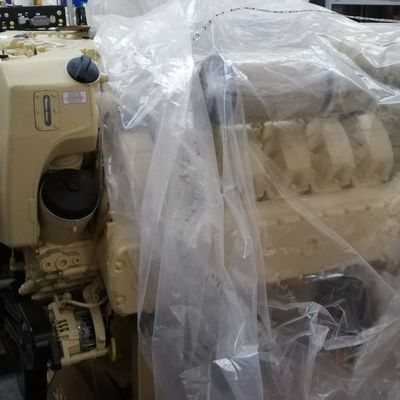 Man V12-1800 HP Marine Engine