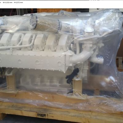MAN V12-1200 D2862LE432 Marine Engine