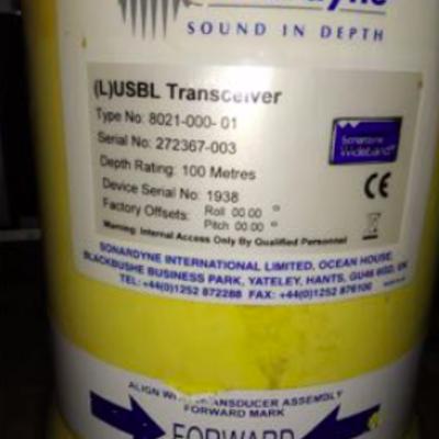Sonardyne USBL Transceiver