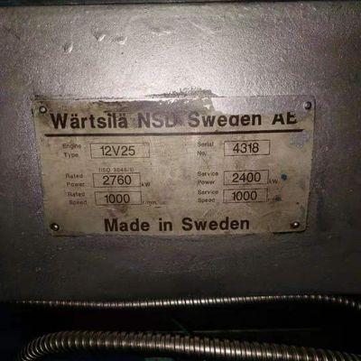 Wartsila 12V25 Marine Engine