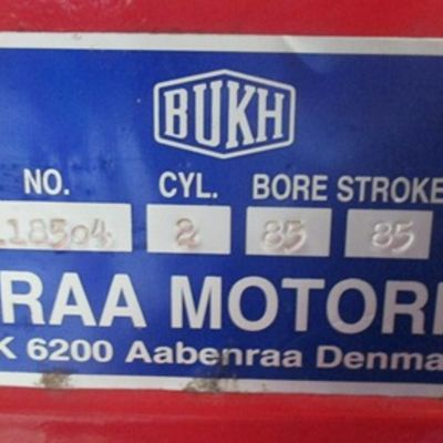 LIFE BOAT ENGINE BUKH - DENMARK