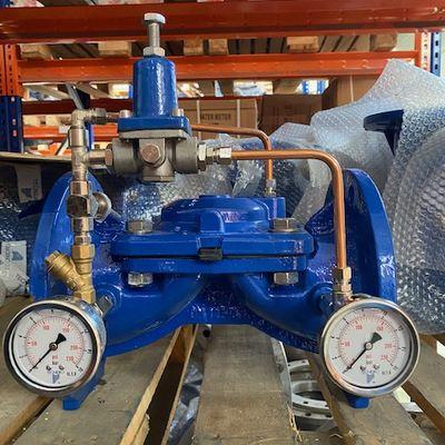 Cast iron pressure reducing valve
