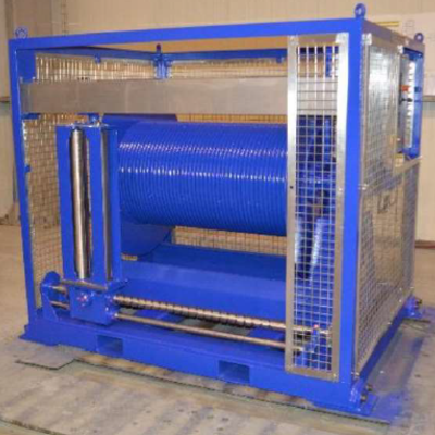 Electric winch 0.3 Te - 1000m