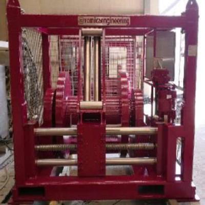 Hydraulic winch 7.4 Te - 1000m