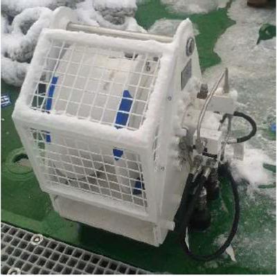 Hydraulic Winch 3.5 Te WLL 40m