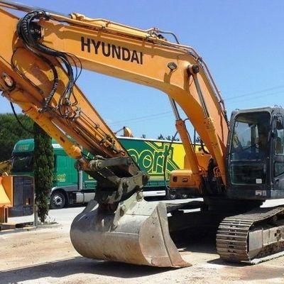 Hyundai Crawler Excavator