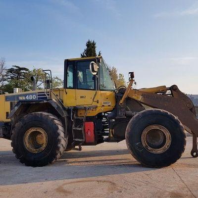 KOMATSU WA480 Wheel loader
