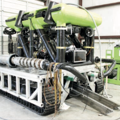 Auction: Cable Trencher/e-WROV