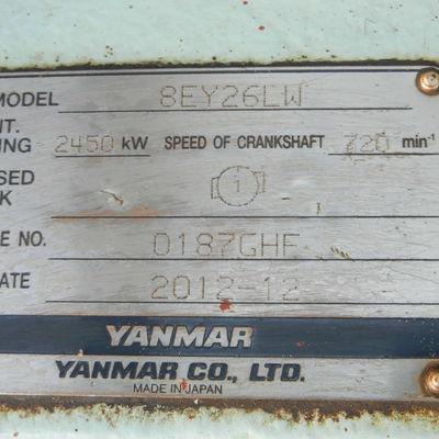 Yanmar 8EY26LW Generating Set