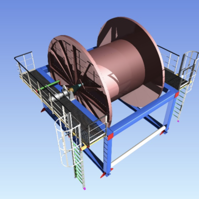 Product Storage Reel System