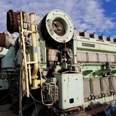 Wartsila 6R32E Marine Engine