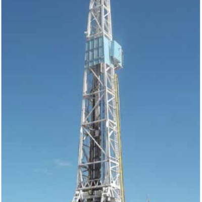 1000 HP National 80B SCR Drilling rig