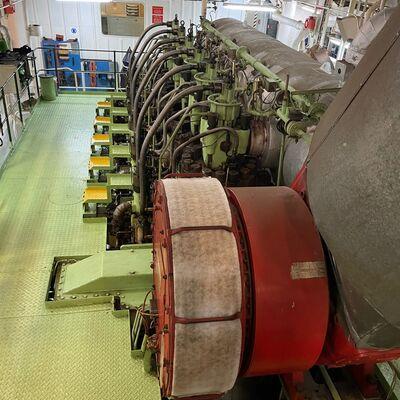 1993 MAN B&W 6S50MC complete engine