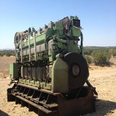 Wartsila Vasa 6R32E Diesel Engine