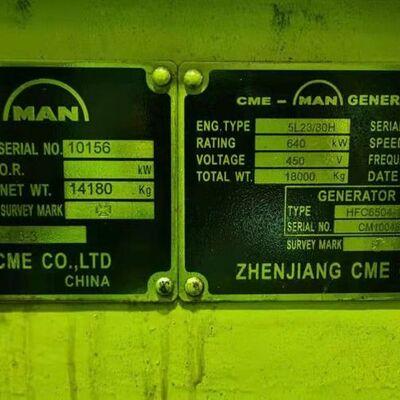 MAN 5L23/30H New generator sets