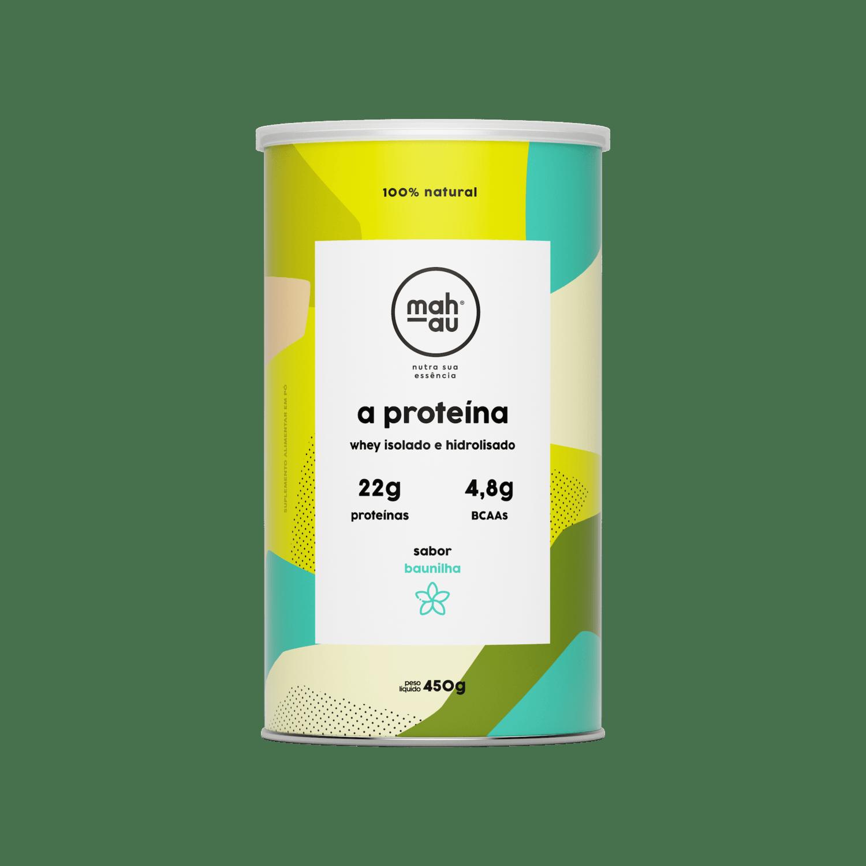A Proteína sabor Baunilha - Mahau 450g