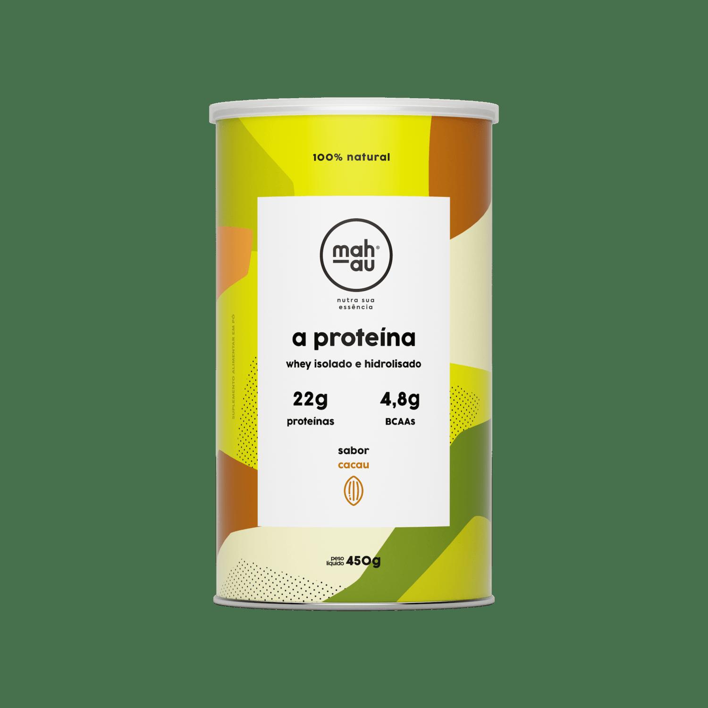 A Proteína sabor Cacau - Mahau 450g