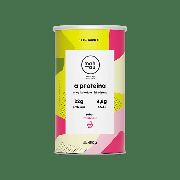 A Proteína sabor Framboesa - Mahau 450g