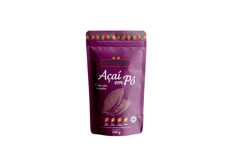 Açaí em pó - Herbal Nutrition 100g
