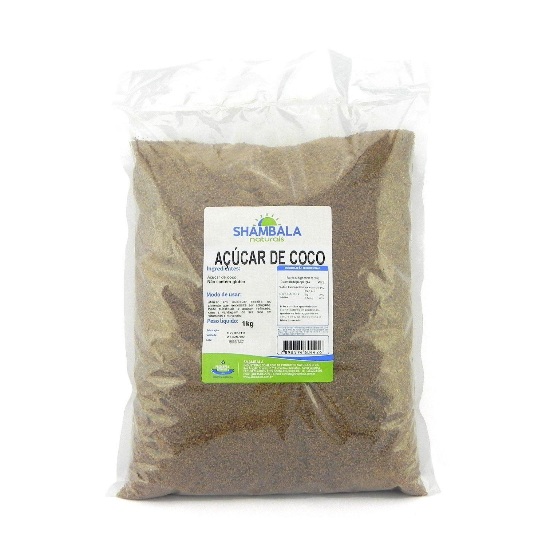 Açúcar de coco Shambala 1Kg